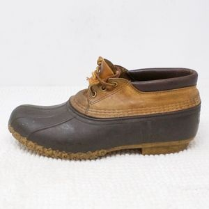 LL Bean Ankle Duck Boots Thinsulate Lined Size 10